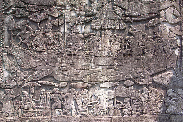 2007092206 - Angkor Thom(Bayon)(Relief)