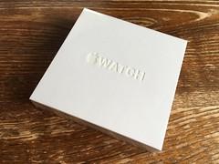 Apple Watch、交換品が届く。