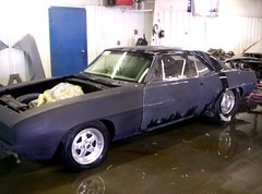 1969 Chevrolet Camaro Drag Car