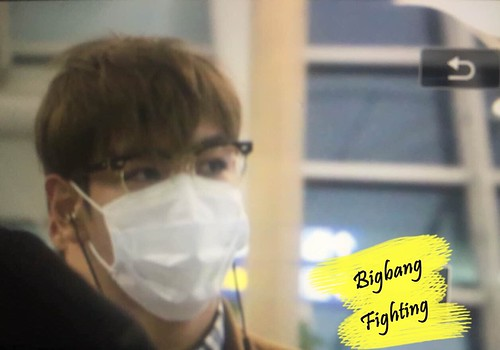 TOP - Incheon Airport - 05nov2015 - BigbangFighting - 05