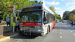 WMATA Metrobus 2012 Orion VII 3G HEV #3079
