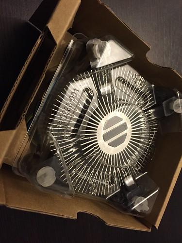 Intel ventirad