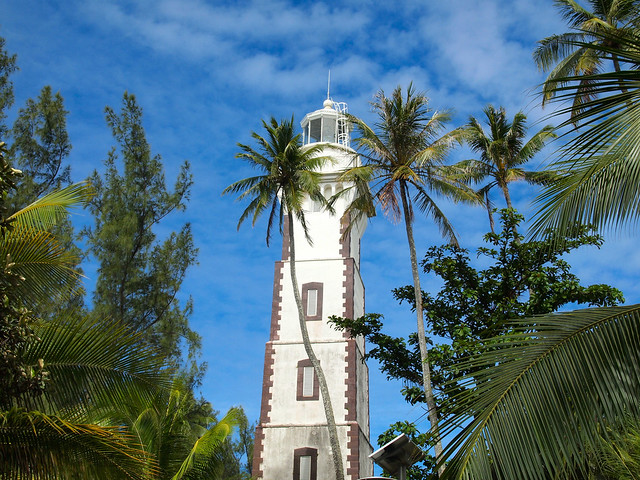 Lighthouse at Point Venus, Tahiti