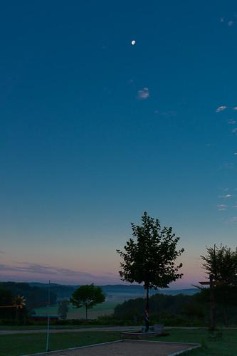 france sunrise landscape dawn frankrijk franchecomté landschap lafrance zonsopgang maan sal18135 sony18135 slta58 dslta58 dt18135