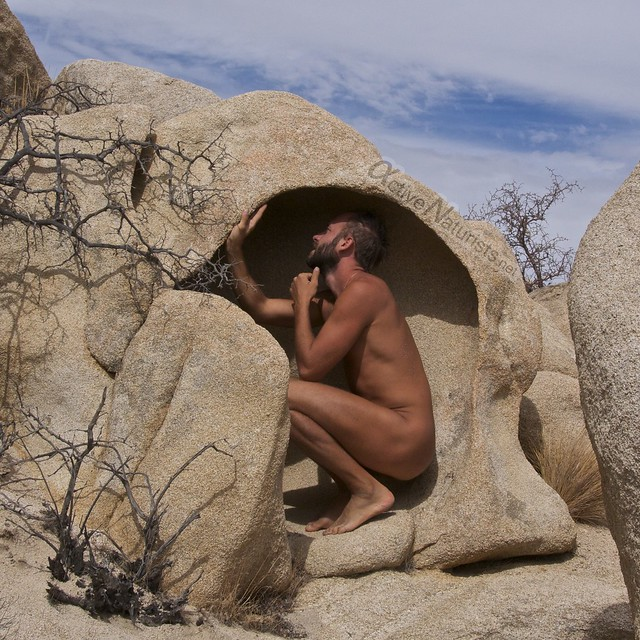 naturist 0004 DeAnza railroad trail, California, USA