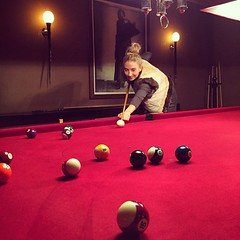 nine-ball(0.0), carom billiards(0.0), indoor games and sports(1.0), individual sports(1.0), billiard room(1.0), play(1.0), snooker(1.0), sports(1.0), recreation(1.0), cue stick(1.0), pool(1.0), billiard table(1.0), recreation room(1.0), games(1.0), english billiards(1.0), cue sports(1.0),