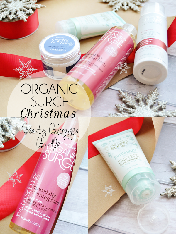 Organic-Surge-Christmas-beauty-blogger-bundle-review