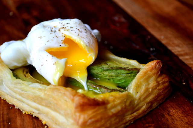 Recipe for Avocado Puff Tart