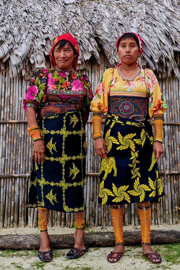 Guna Woman - San Blas Island