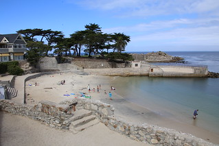 Lovers Cove. Pacific Grove, Californian Coast.