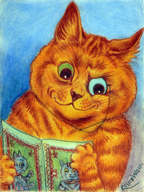 002-Louis Wain- via chrisbeetles