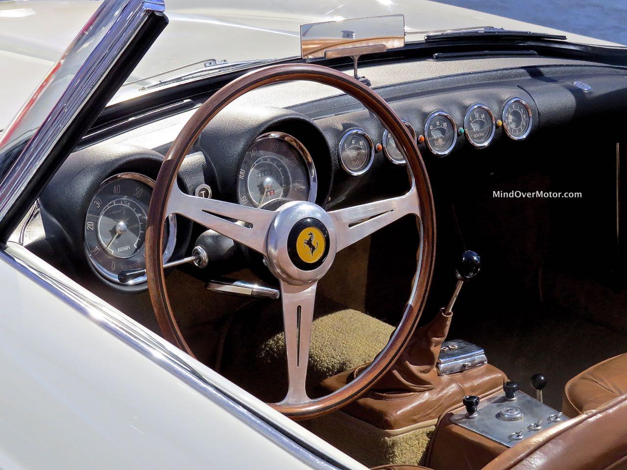 Ferrari 250GT Series 1 Cabriolet Interior