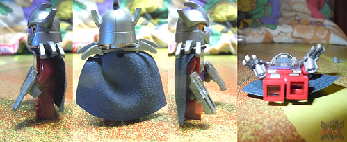 "Sheng Yuan TEENAGE MUTANT NINJA TURTLES :: ""SHREDDER"" Bootleg Minifigure Set v  (( 2014 ))"