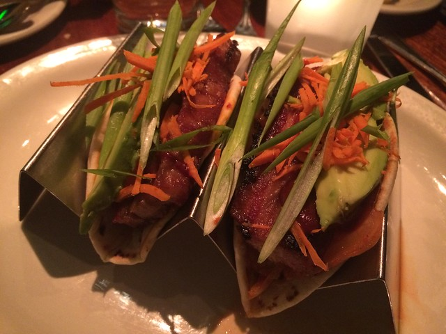 Pork belly tacos - Old Ebbitt Grill