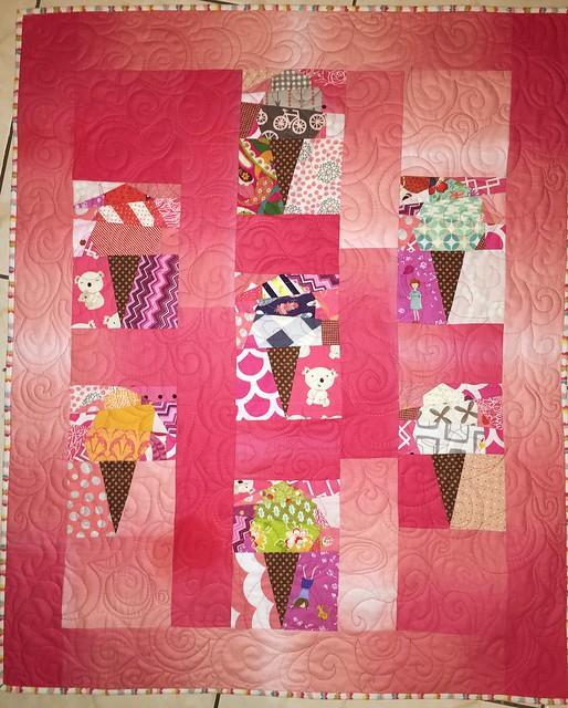 Ice Cream Baby Quilt