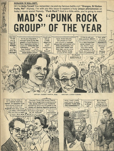 Punk Rock Group Of The Year (Mad Magazine - June 1978) 1/4