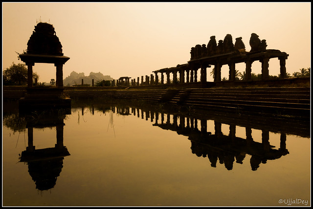 Pushkarini (Pond) @ Hampi