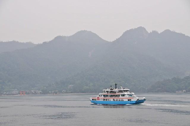 Ferry from Miyajima