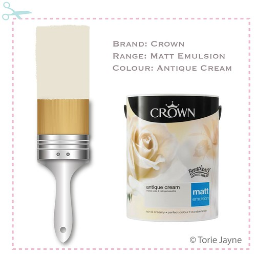 Crown Matt Emulsion - Antique Cream