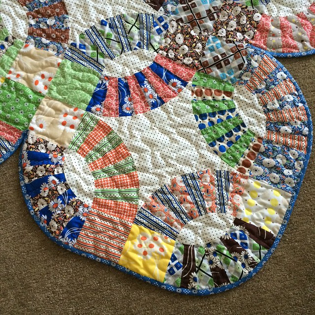 Pickledish quilting