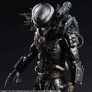 【追加官圖 & 販售資訊】宇宙最強的狩獵種族!Play Arts 改推出終極戰士!!!