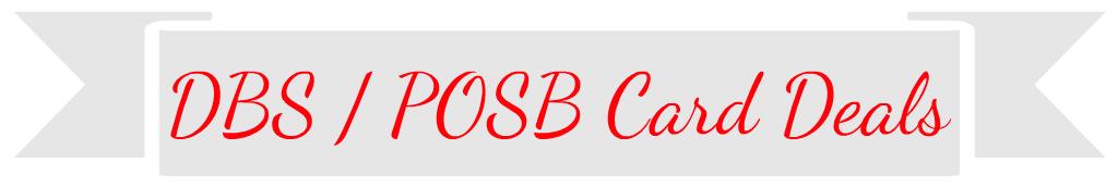 DBS/POSB Deals