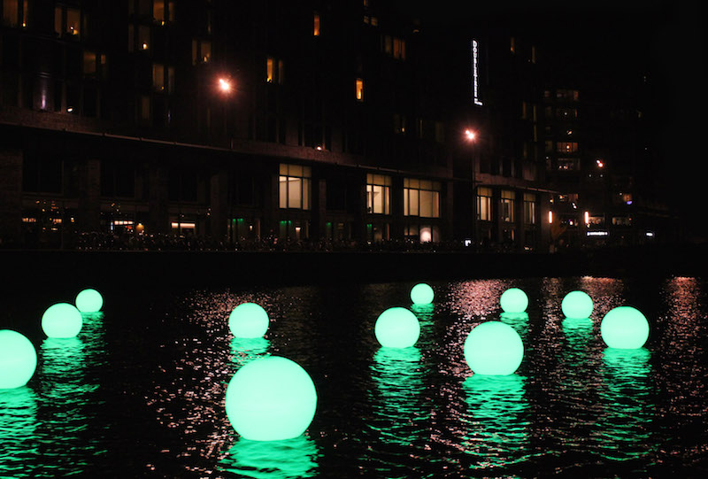 Amsterdam Light Festival 2014 Water Fun by Angus Muir