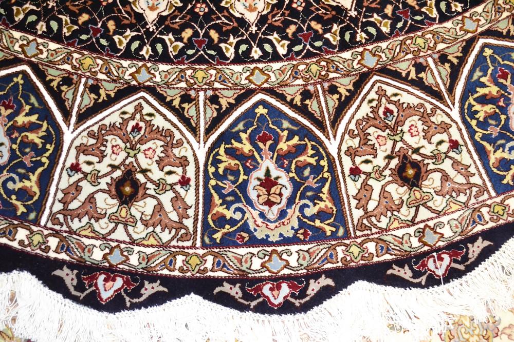 Royal gonabd Tabriz Persian Rug 8x8 (6)