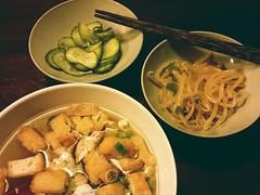 Tonight's dinner: Soup & salad - Asian st…