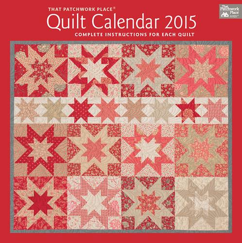 quilt calendar 2015.