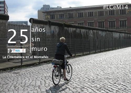 #LCeM14. 25 años sin muro
