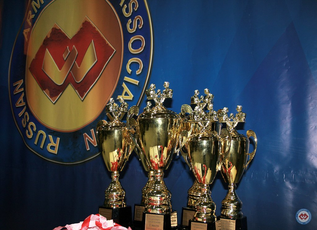 Cups for the Champions - Moscow Armwrestling Championship 2014 │ Photo Source: armsport-rus.ru