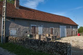 Épinassy, France Bourgondië, Regio Charrolais, Ounde boerderij, in gebruik als tweede huis.