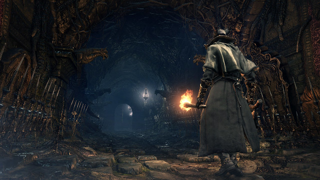 Bloodborne on PS4