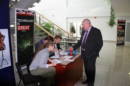 British Week Opening Freeport of Riga Conference hall