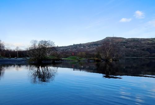 759 Llyn Padarn Reflections
