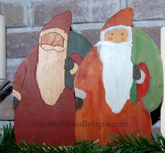 Christmas Home Tour Santas