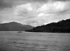 Vanished Japan: View of Fujisan at Lake Ashi, 1956