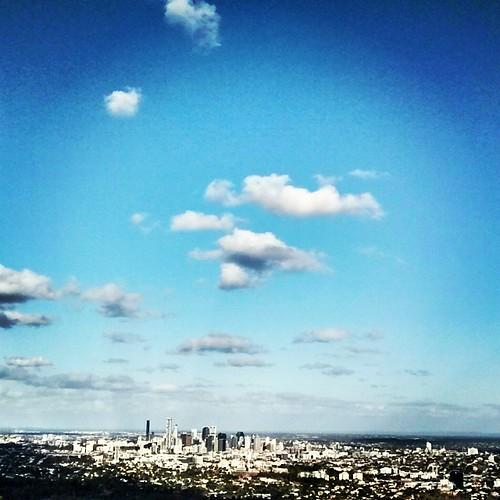 #Brisbane shines