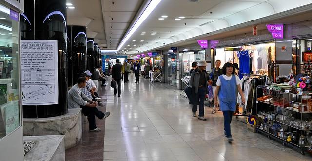 Busan subway mall