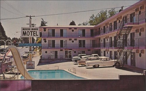 Modern Manor Motel, Sonora California