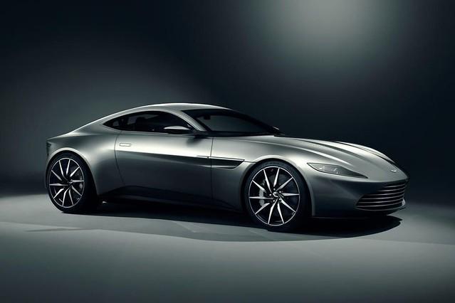 el auto para Bond 24 es un aston Martin