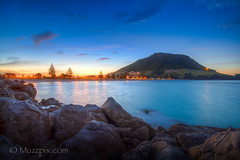 muzzpix-nz posted a photo:Facebook    | 500px  | WebsiteThe sunset was a bit bland but the beach front at Mount Maunganui still images well ... soon to be taken over by hordes of tourists on the xmas summer holidays . Now its getting into summer temps ... about time .