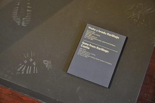 Výstava Hrady a zámky objevované a opěvované (19.12.2014-15.12.2015). Šlápoty
