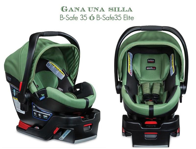 primera silla de carro para bebés Britax