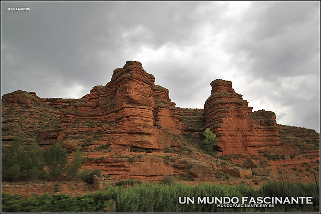 Paisajes de camino a Riodeva, Aragón