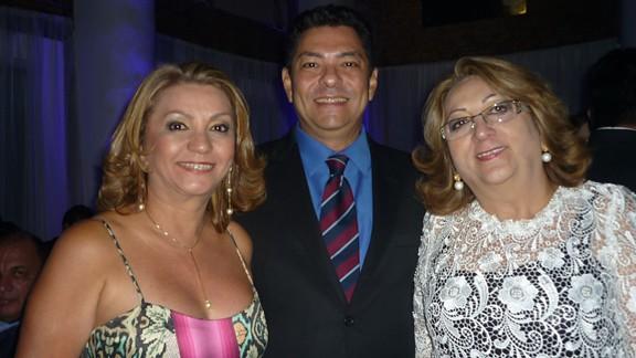 Francimary Leão, Ismaelino Pinto e Betania Conrado