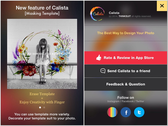 Caliata Screen Shots