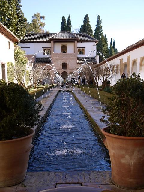 Spain Granada The Alhambra Generalife 1