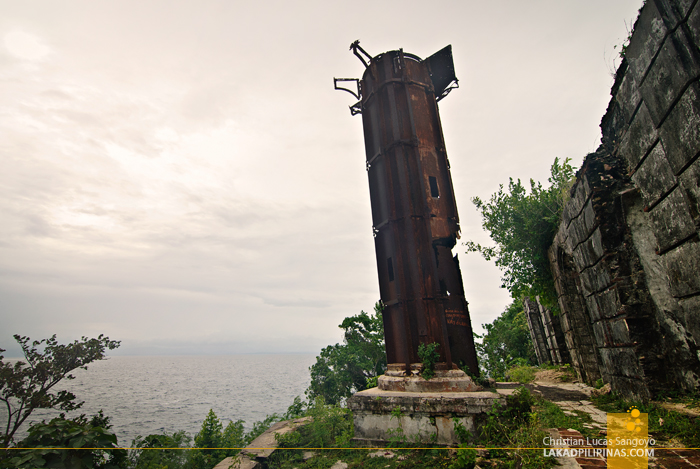 The Cast Iron Ruin of the Guisi Lighthouse in Guimaras